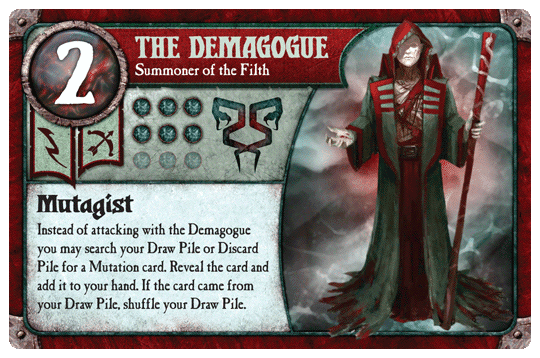 The Demagogue deck build (Filth) - Guide, Tabletop games