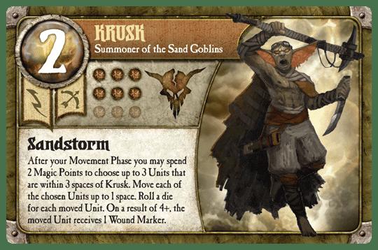 Krusk deck build (Sand Goblins) - Guide, Tabletop games